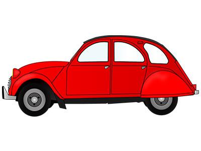 1965 mua xe màu gì - Nam chọn màu đỏ