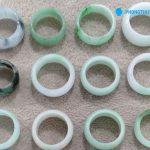 Nhẫn cẩm thạch bản liền 2 - Phong Thủy Xanh