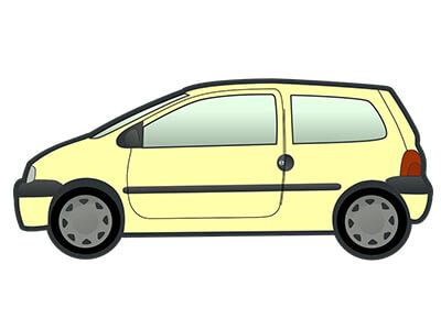 1965 mua xe màu gì - Nữ chọn màu vàng